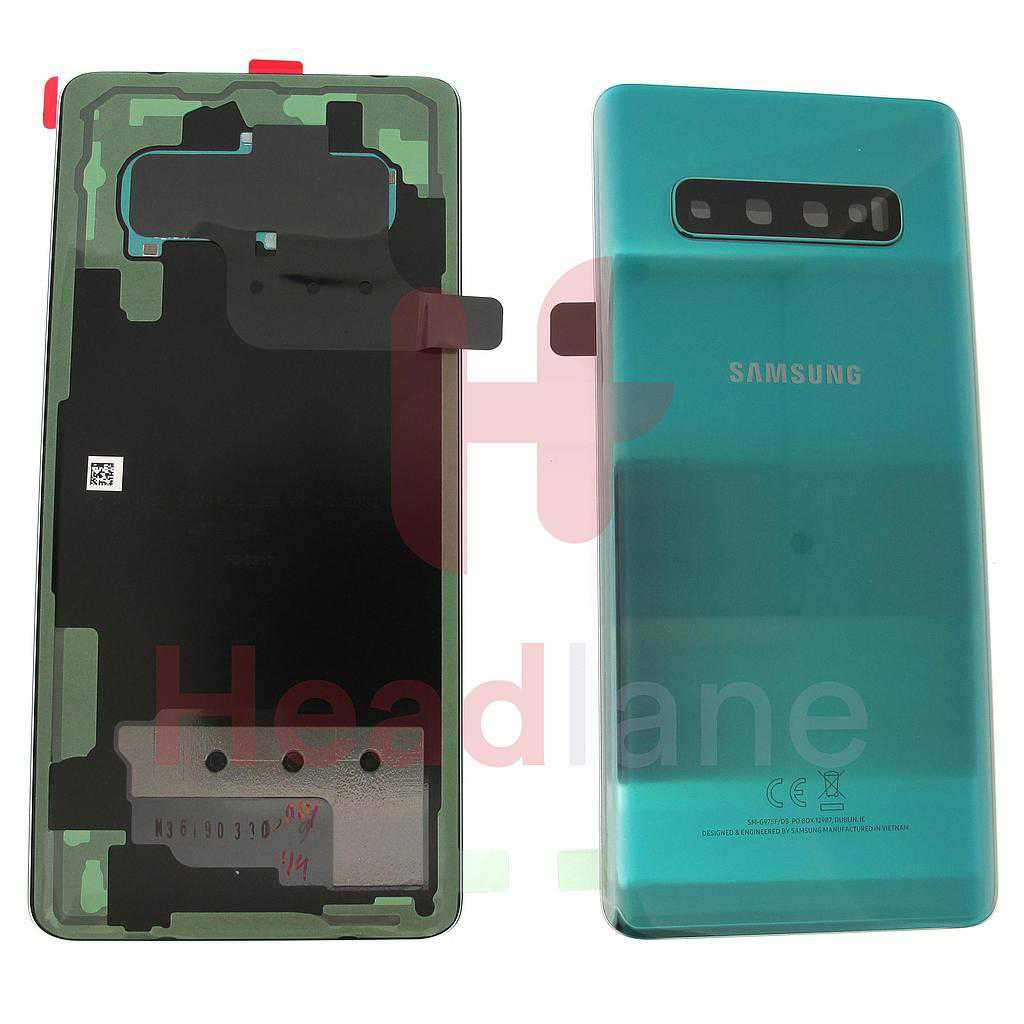 Samsung SM-G975 Galaxy S10+ / S10 Plus Back / Battery Cover - Prism Green