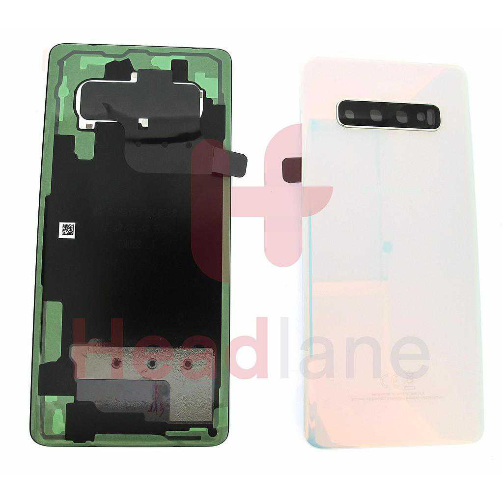Samsung SM-G975 Galaxy S10+ / S10 Plus Back / Battery Cover - Prism White