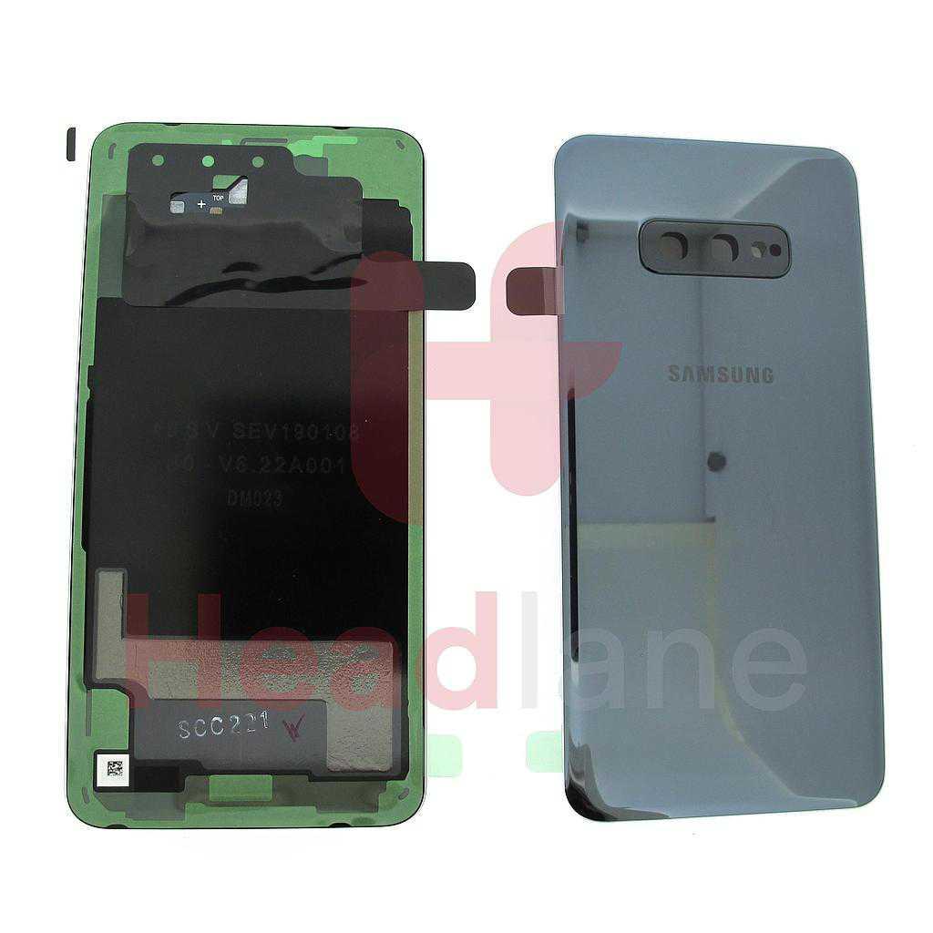 Samsung SM-G970 Galaxy S10E Back / Battery Cover - Prism Black