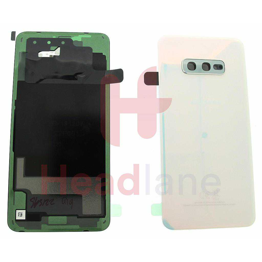 Samsung SM-G970 Galaxy S10E Back / Battery Cover - Prism White