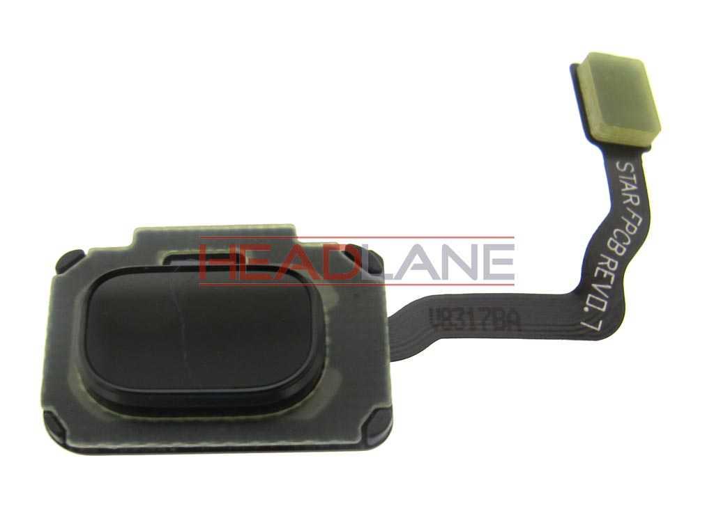 Samsung SM-G960F / SM-G965F Galaxy S9/S9+ Home Key / Button  - Black