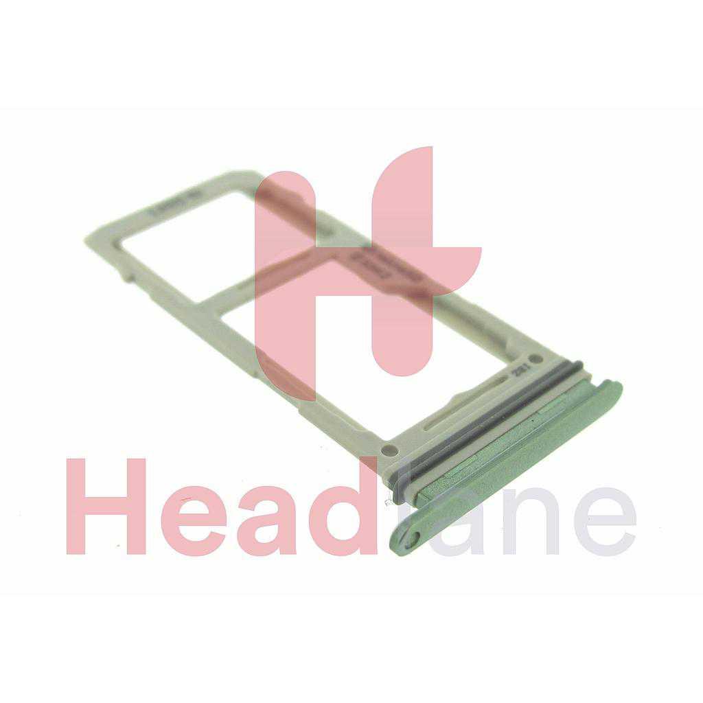 Samsung SM-G970 Galaxy S10E SIM / Memory Card Tray (Hybrid / Dual SIM) - Prism Green