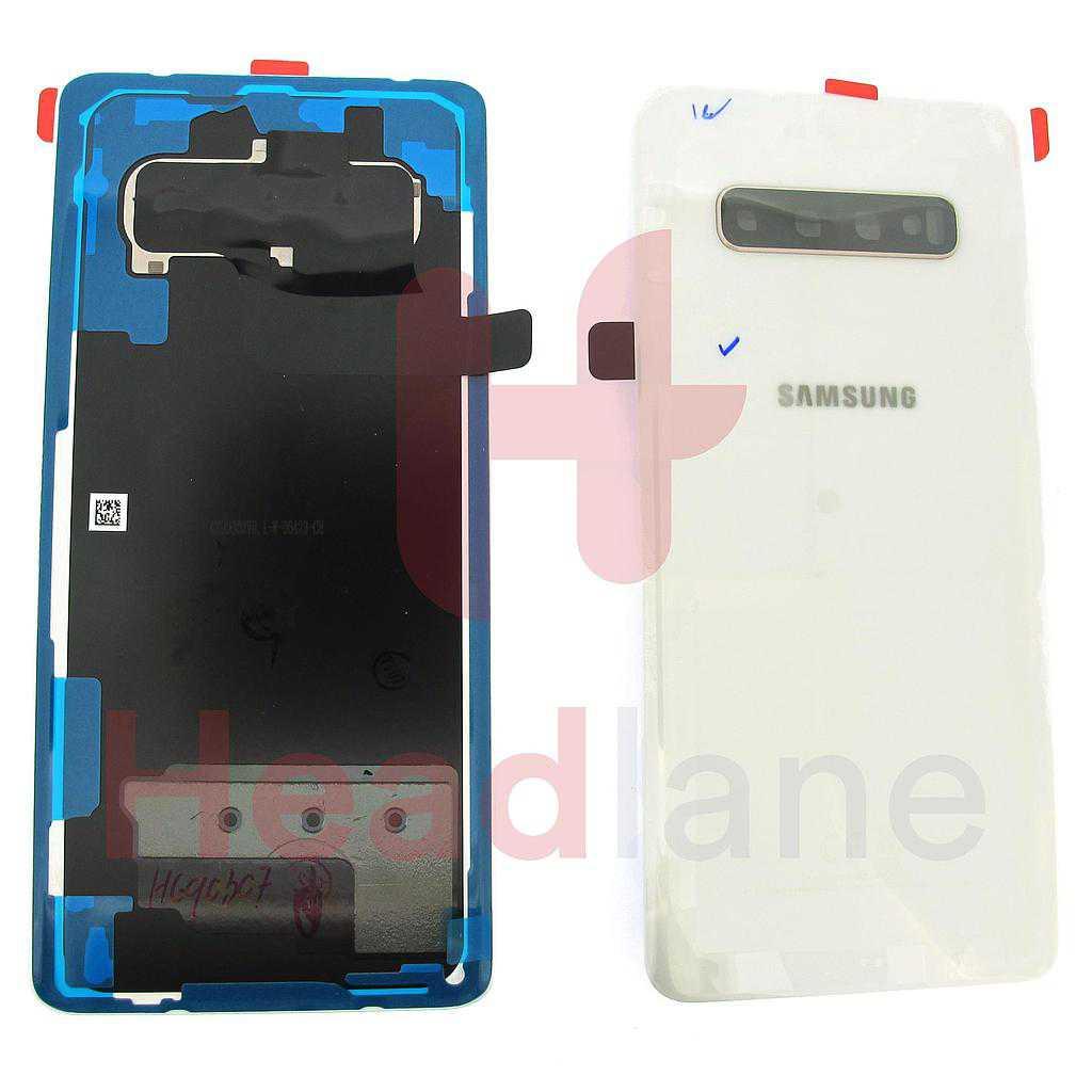 Samsung SM-G975 Galaxy S10+ / S10 Plus Back / Battery Cover - Ceramic White