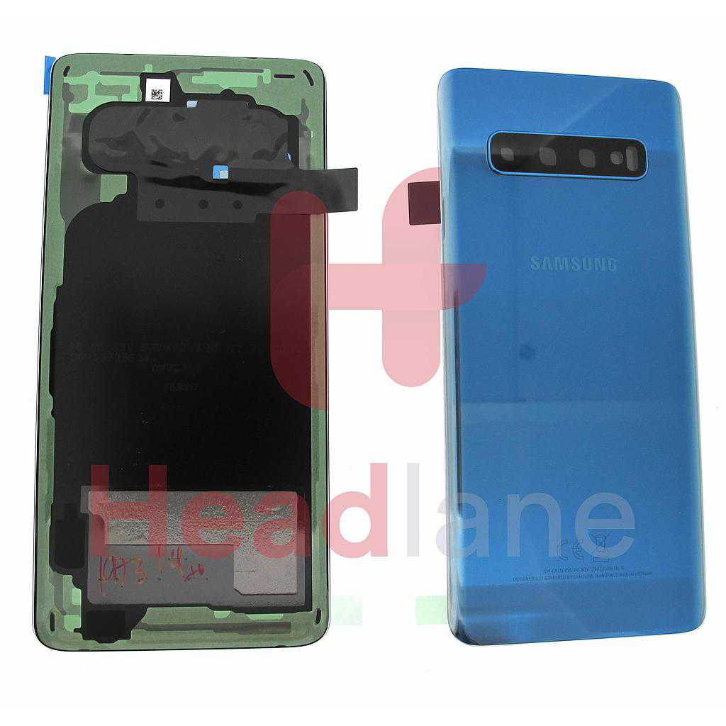 Samsung SM-G973 Galaxy S10 Back / Battery Cover - Prism Blue