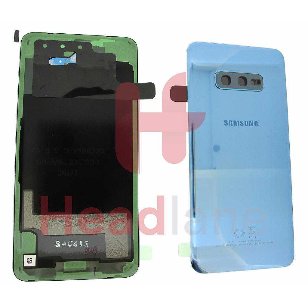 Samsung SM-G970 Galaxy S10E Back / Battery Cover - Prism Blue