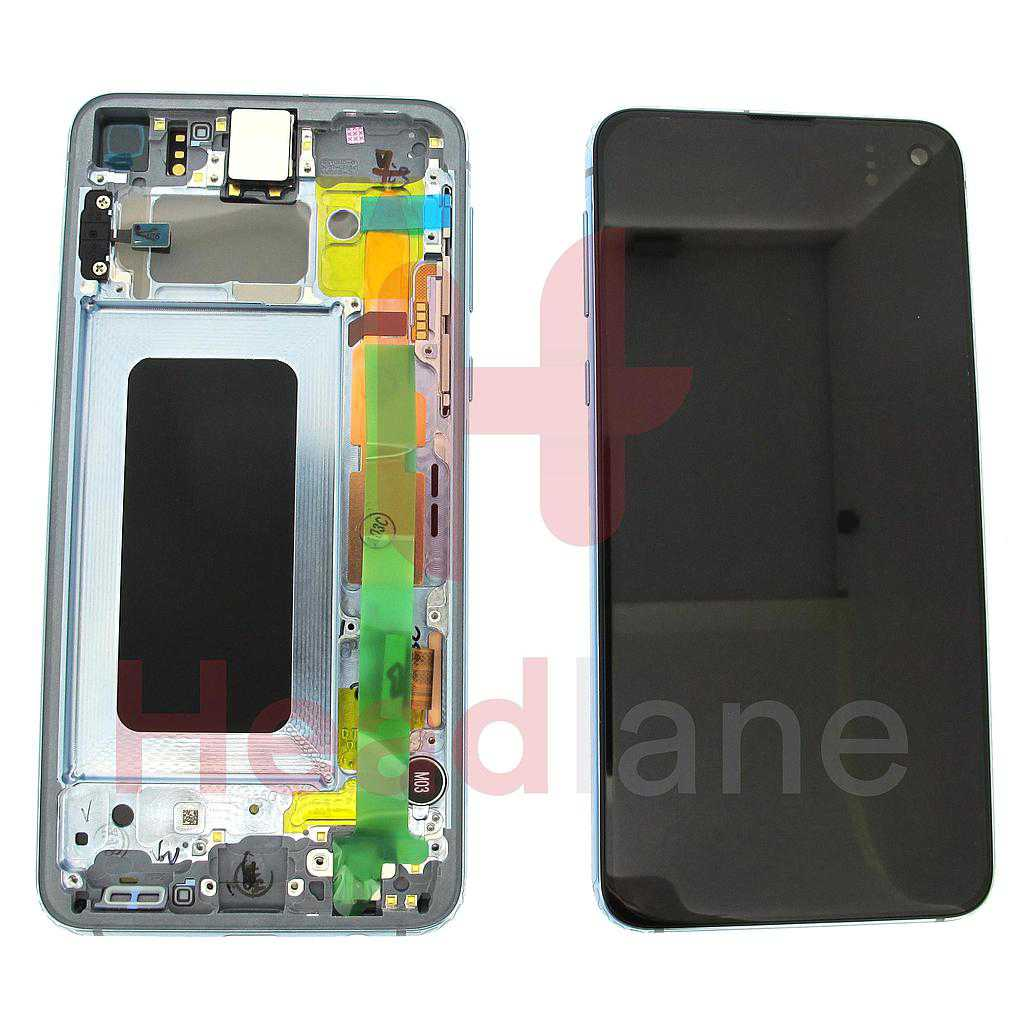 Samsung SM-G970 Galaxy S10E LCD Display / Screen + Touch - Prism Blue
