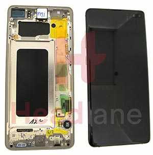 Samsung SM-G975 Galaxy S10+ / S10 Plus LCD Display / Screen + Touch - Ceramic White
