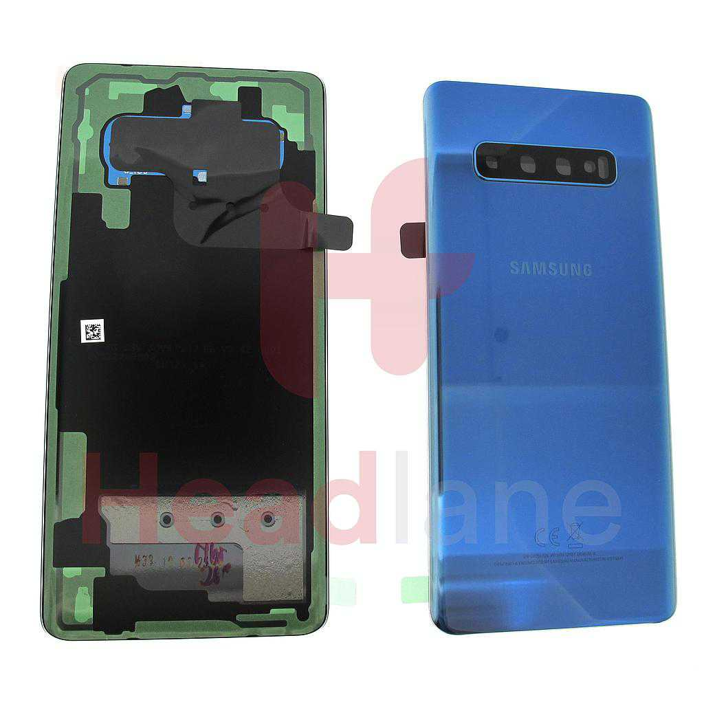 Samsung SM-G975 Galaxy S10+ / S10 Plus Back / Battery Cover - Prism Blue