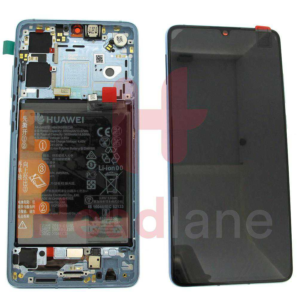 Huawei P30 LCD Display / Screen + Touch + Battery Assembly - Breathing Crystal