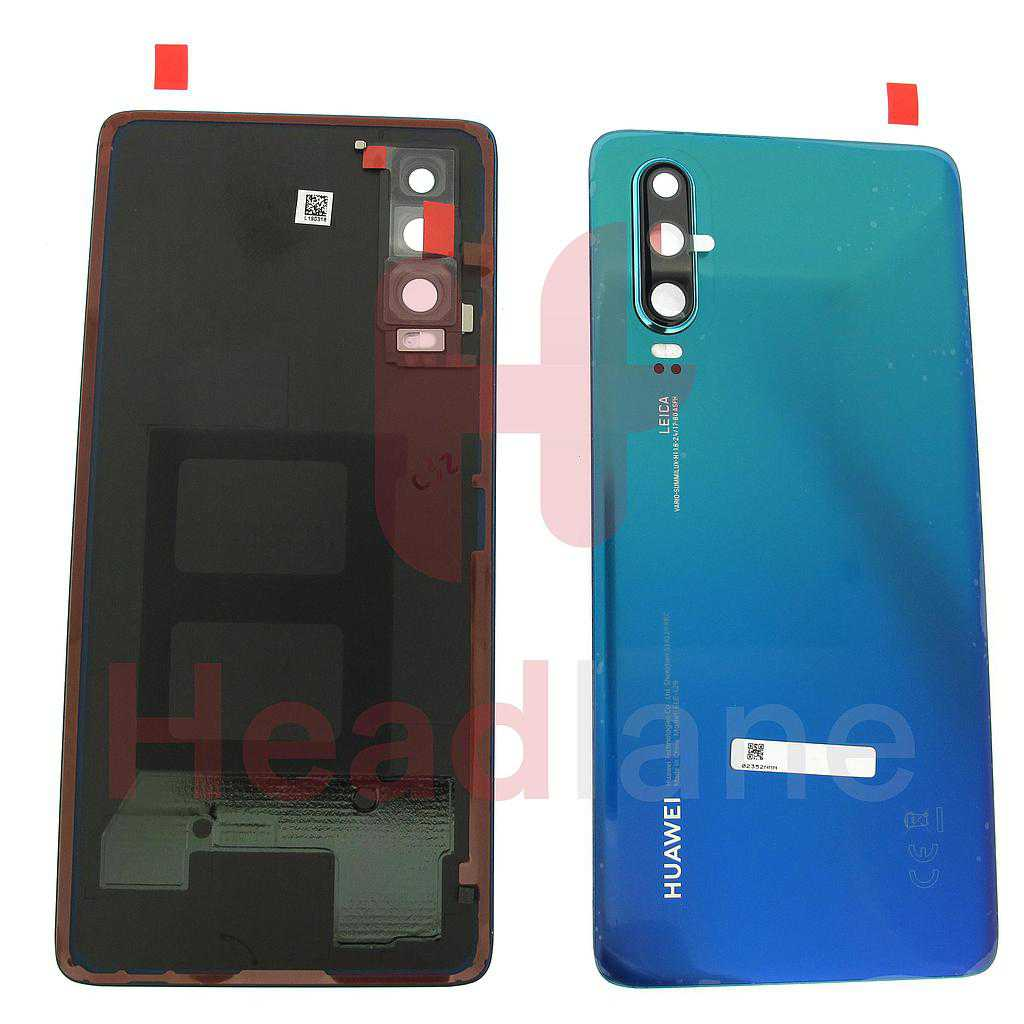 Huawei P30 Back / Battery Cover -  Aurora Blue