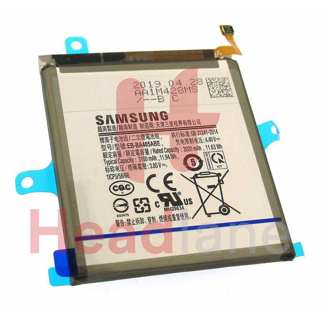 Samsung SM-A405 Galaxy A40 Internal Battery EB-BA405ABE