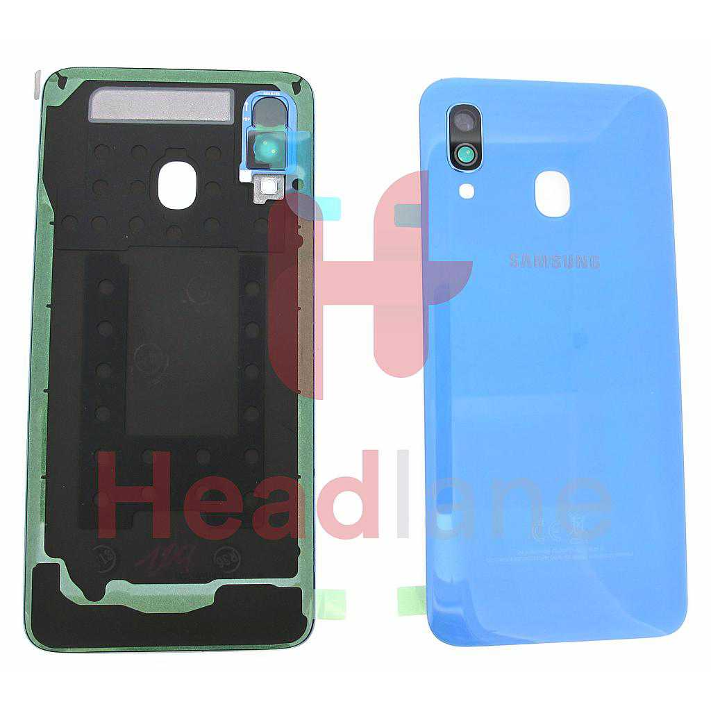 Samsung SM-A405 Galaxy A40 Back / Battery Cover - Blue