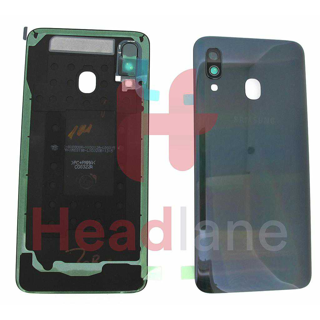 Samsung SM-A405 Galaxy A40 Back / Battery Cover - Black