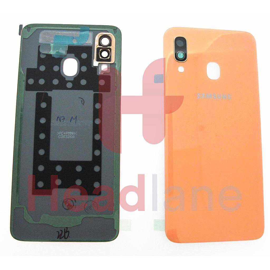 Samsung SM-A405 Galaxy A40 Back / Battery Cover - Coral