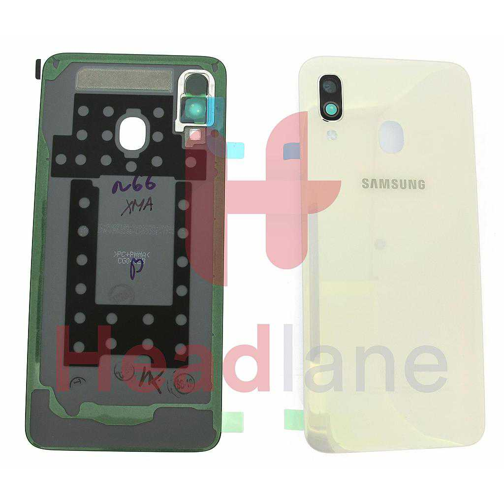 Samsung SM-A405 Galaxy A40 Back / Battery Cover - White