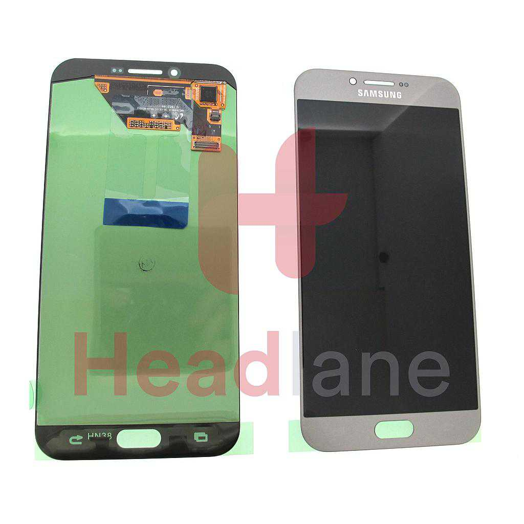 Samsung SM-A810 Galaxy A8 (2016) LCD Display / Screen + Touch - Silver