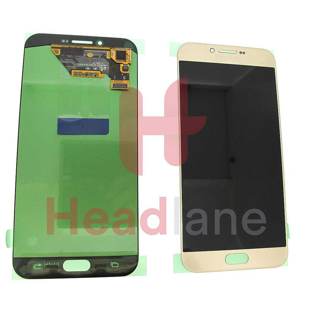 Samsung SM-A810 Galaxy A8 (2016) LCD Display / Screen + Touch - Gold