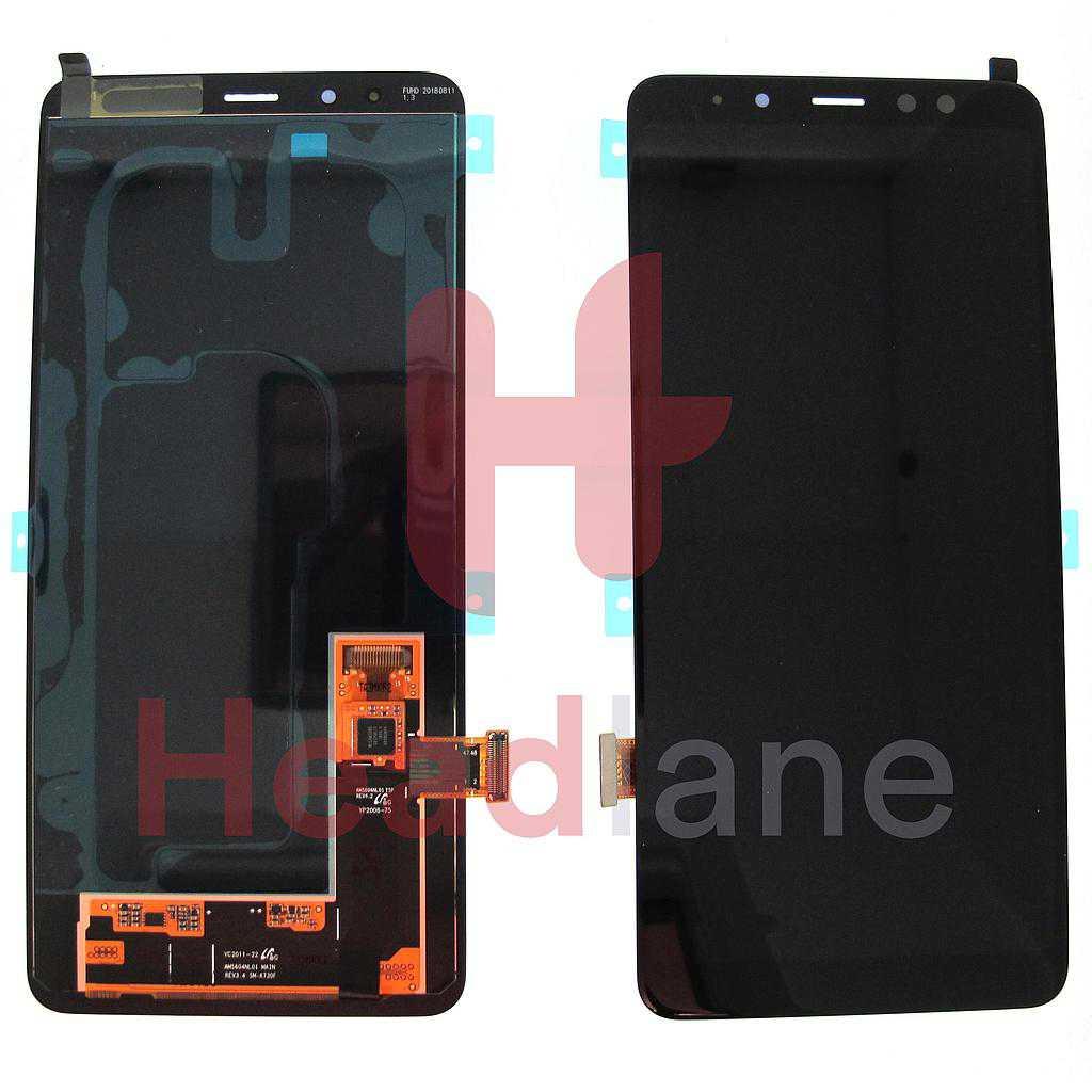 Samsung SM-A730 Galaxy A8+ (2018) LCD Display / Screen + Touch - Black