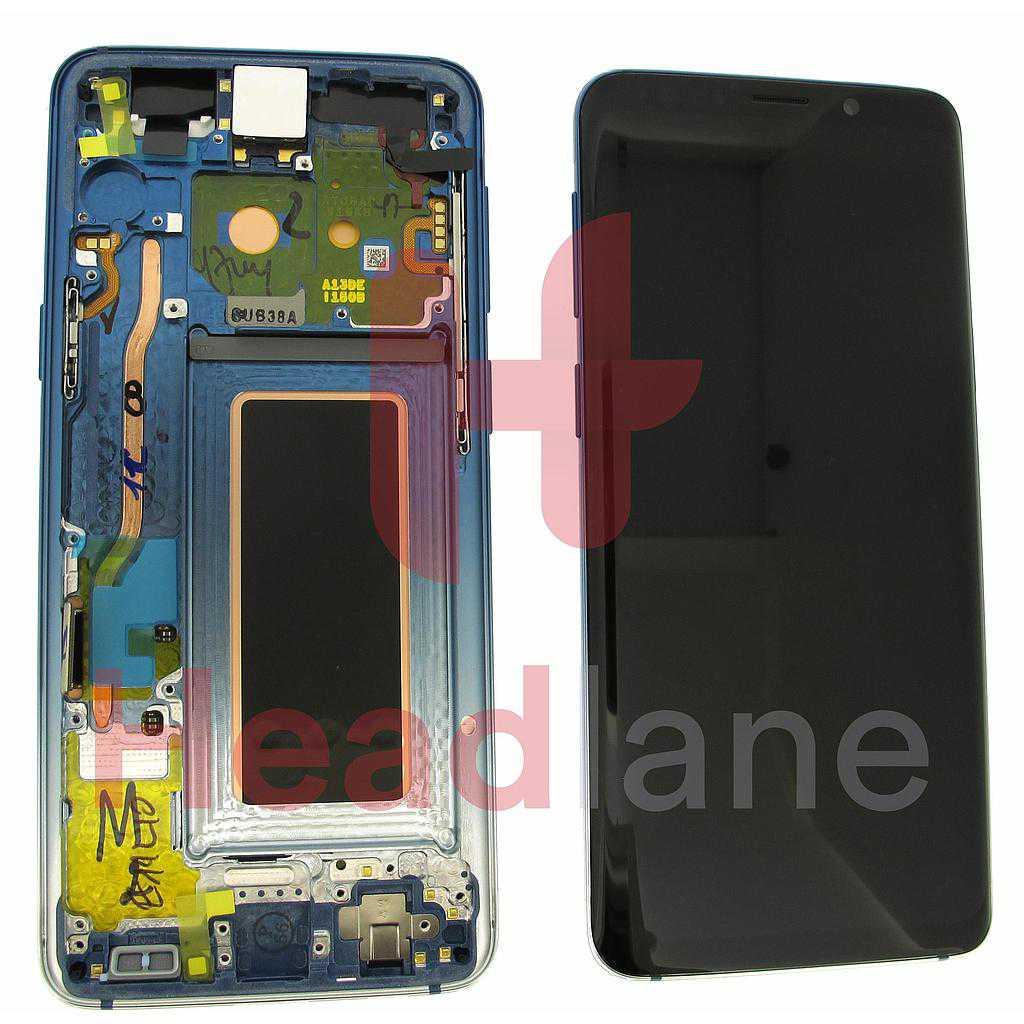 Samsung SM-G960F Galaxy S9 LCD Display / Screen + Touch - Polaris Blue