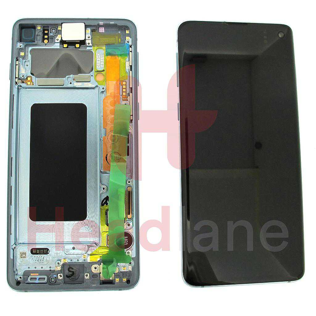 Samsung SM-G973 Galaxy S10 LCD Display / Screen + Touch - Prism Blue