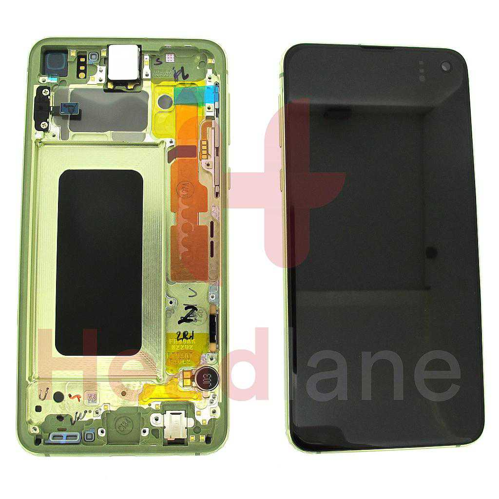 Samsung SM-G970 Galaxy S10E LCD Display / Screen + Touch - Canary Yellow