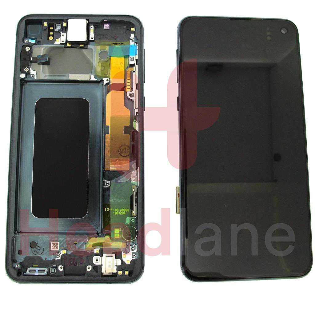 Samsung SM-G970 Galaxy S10E LCD Display / Screen + Touch - Prism Black
