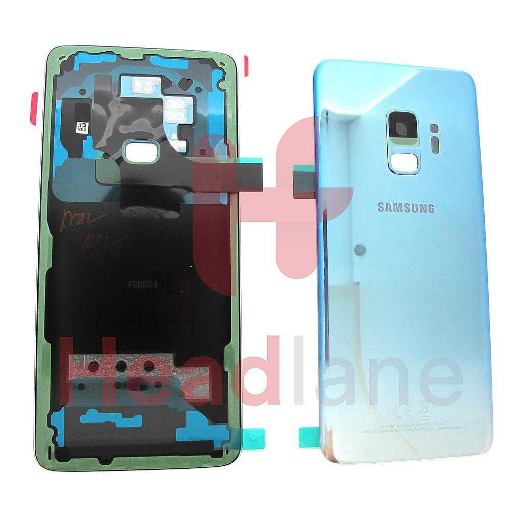 Samsung SM-G960F Galaxy S9 Single SIM Battery Cover - Polaris Blue