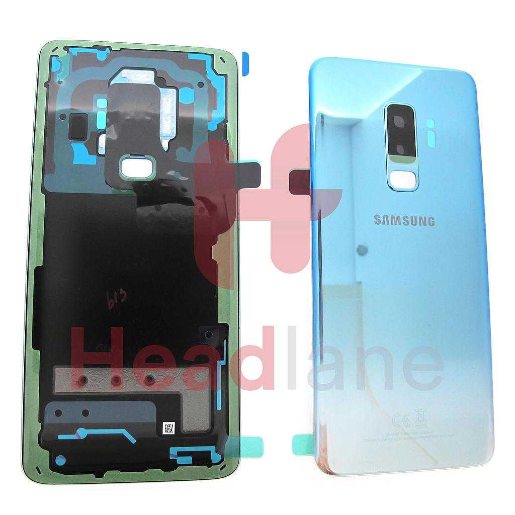 Samsung SM-G965F Galaxy S9+ Single SIM Battery Cover - Polaris Blue