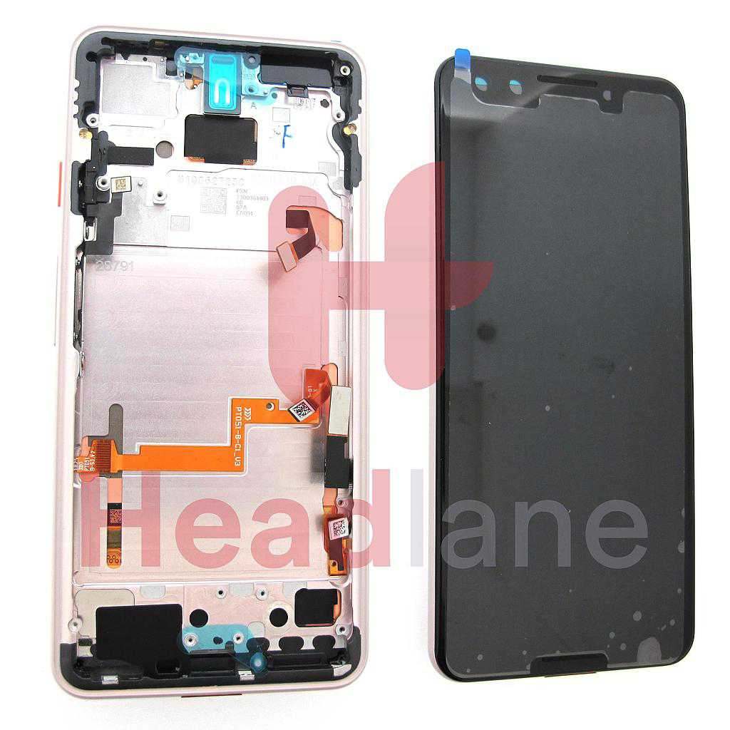 Google Pixel 3 LCD Display / Screen + Touch - Not Pink