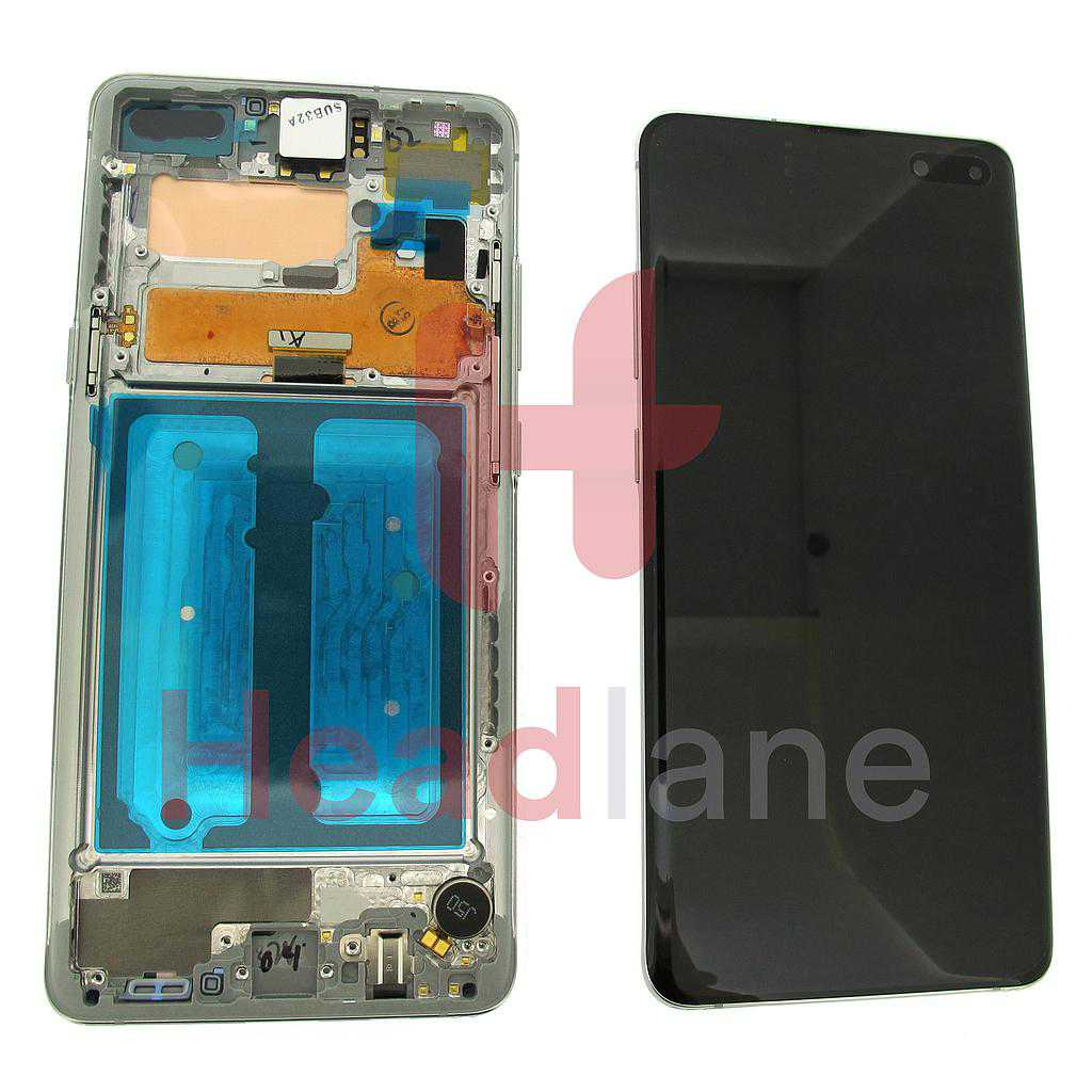 Samsung SM-G977 Galaxy S10 5G LCD Display / Screen + Touch - Crown Silver