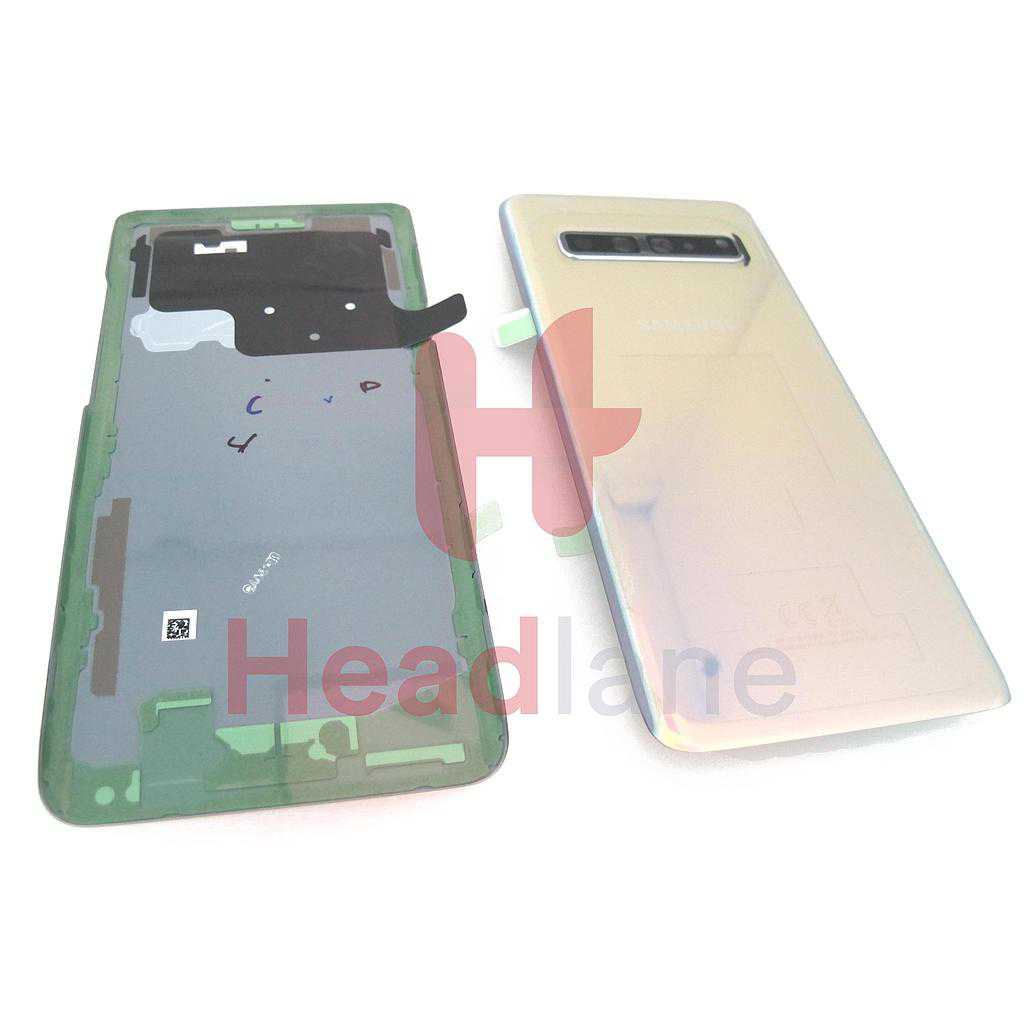 Samsung SM-G977 Galaxy S10 5G Back / Battery Cover - Crown Silver