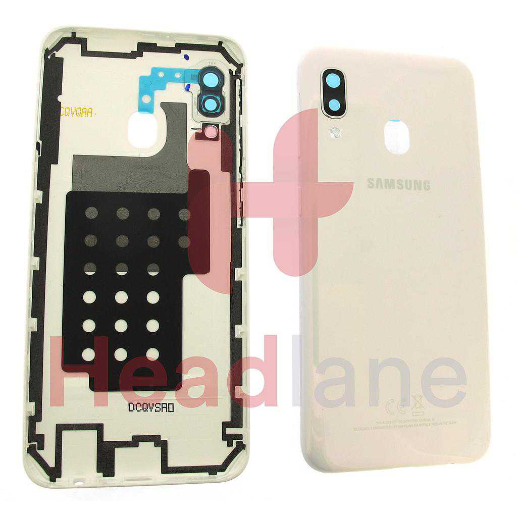 Samsung SM-A202 Galaxy A20E Back / Battery Cover - White