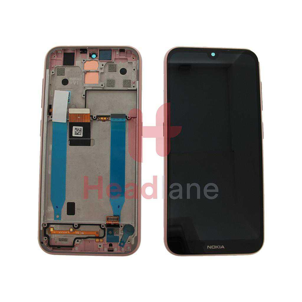 Nokia 4.2 TA-1157, TA-1150 LCD Display / Screen + Touch - Pink