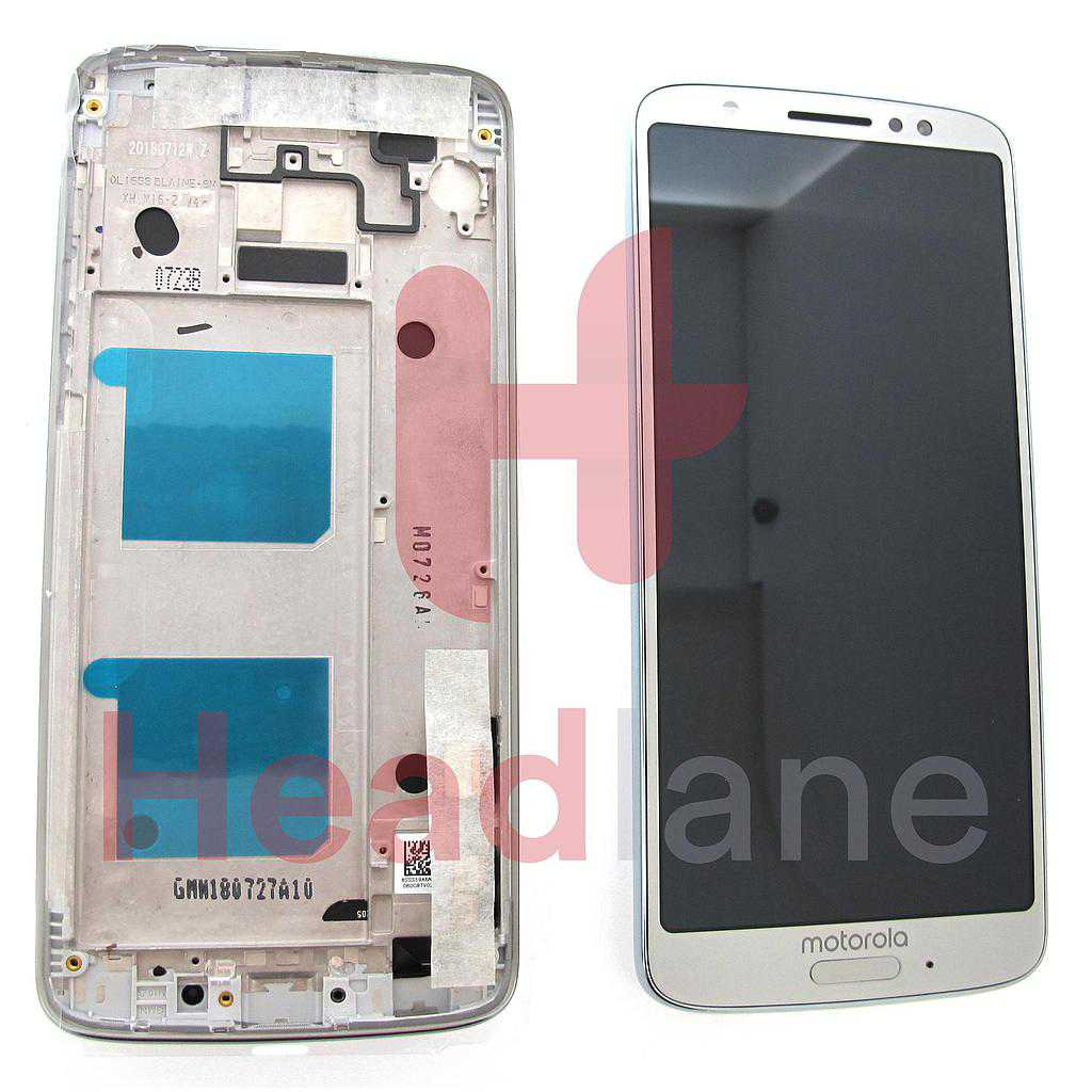 Lenovo / Motorola XT1925 Moto G6 LCD Display / Screen + Touch - Silver