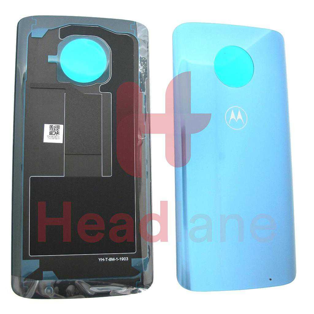 Lenovo / Motorola XT1926 Moto G6 Plus Back / Battery Cover - Nimbus / Grey