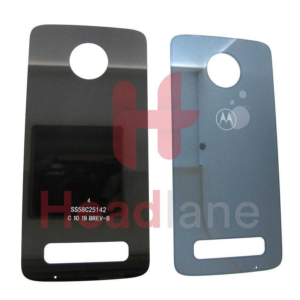 Lenovo / Motorola XT1929 Moto Z3 Play Back / Battery Cover - Blue