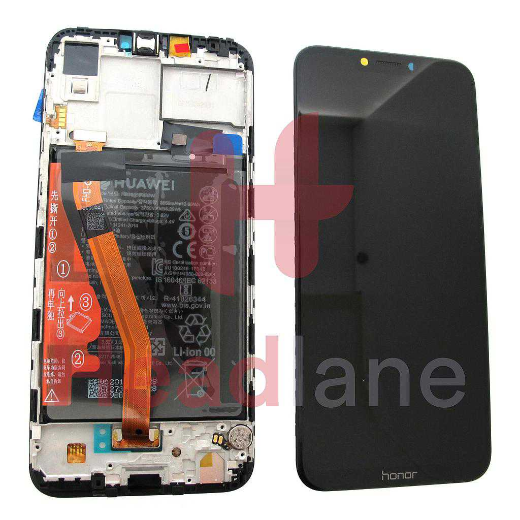 Huawei Honor Play LCD Display / Screen + Touch + Battery - Black