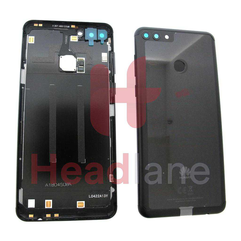 Huawei Y9 (2018) Back / Battery Cover - Black