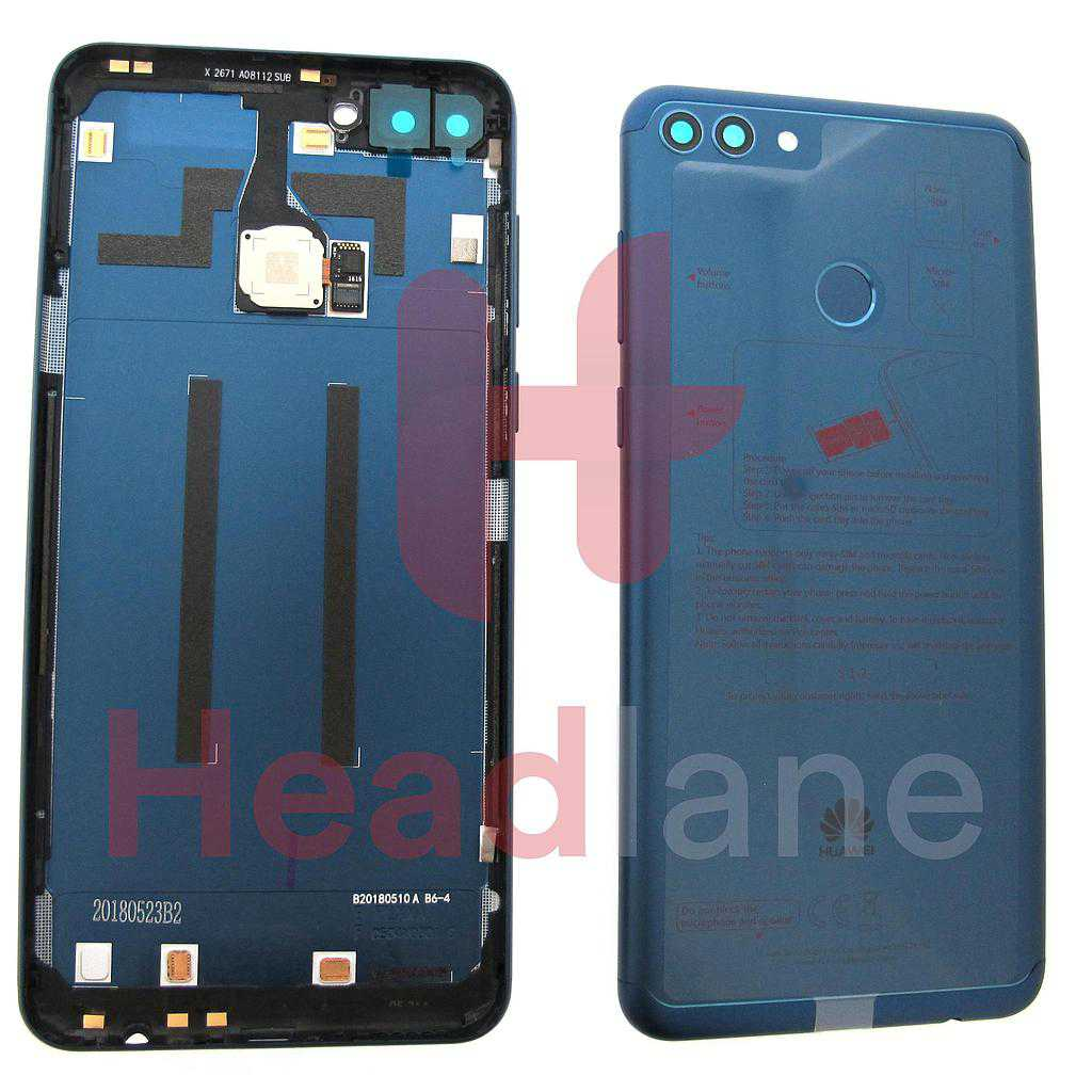 Huawei Y9 (2018) Back / Battery Cover - Blue