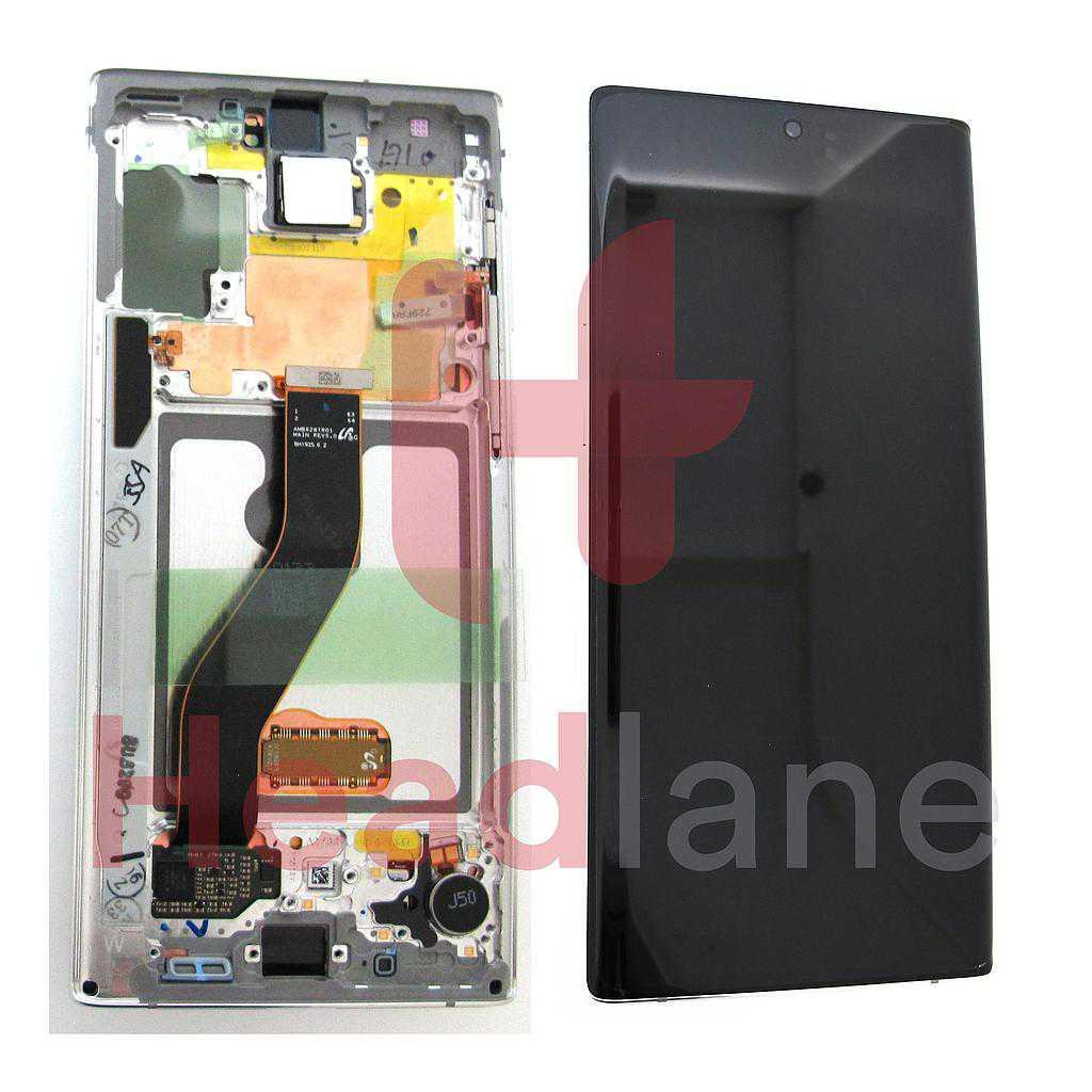 Samsung SM-N970 Galaxy Note 10 LCD Display / Screen + Touch - Aura White