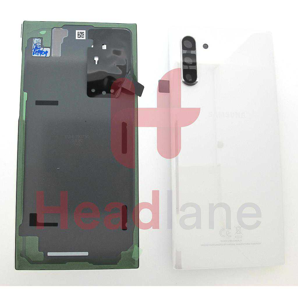 Samsung SM-N970 Galaxy Note 10 Back / Battery Cover - Aura White