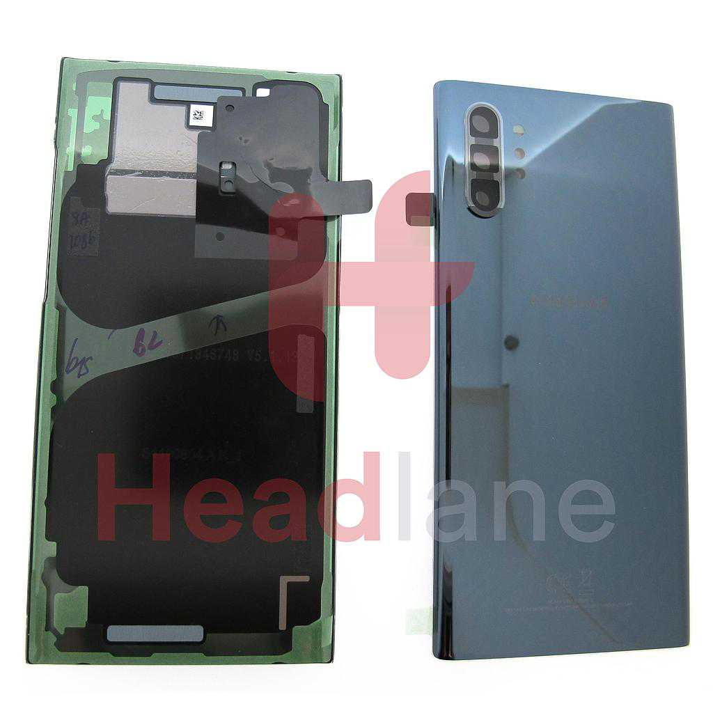 Samsung SM-N976 Galaxy Note 10+ 5G / Galaxy Note 10 Plus 5G Back / Battery Cover - Aura Black