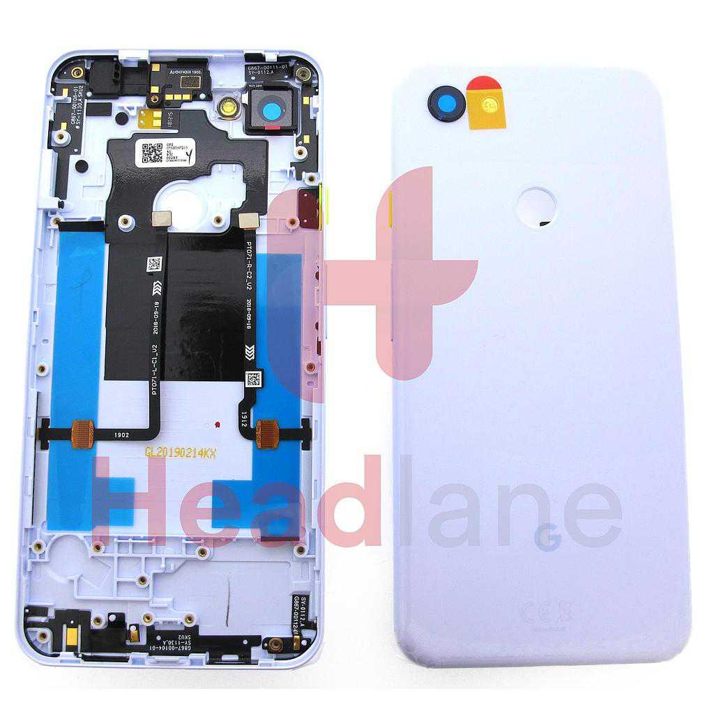 Google Pixel 3a XL Back / Battery Cover - Purple-ish