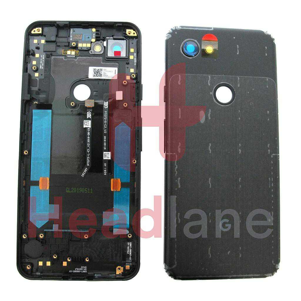 Google Pixel 3a Back / Battery Cover - Jet Black
