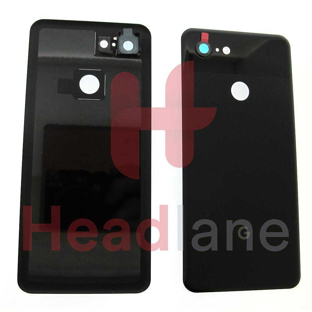 Google Pixel 3 Back / Battery Cover - Just Black