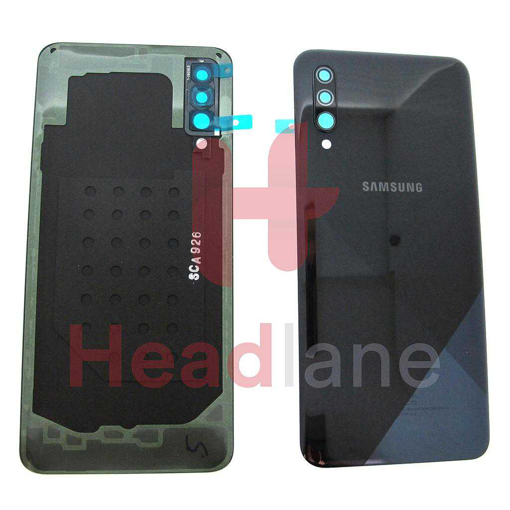 Samsung SM-A307 Galaxy A30s Back / Battery Cover - Black