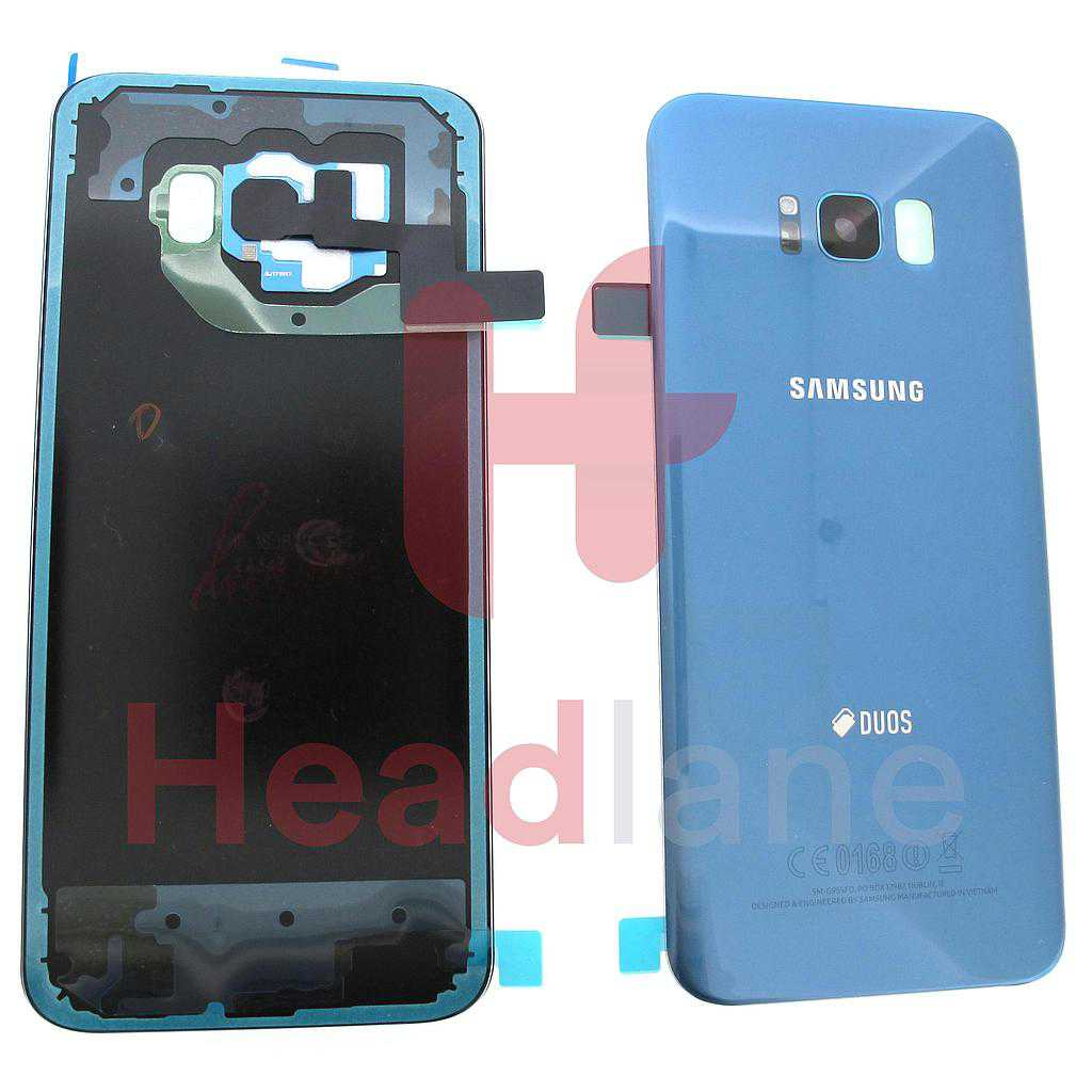 Samsung SM-G955FD Galaxy S8+ DUOS Battery Cover - Blue
