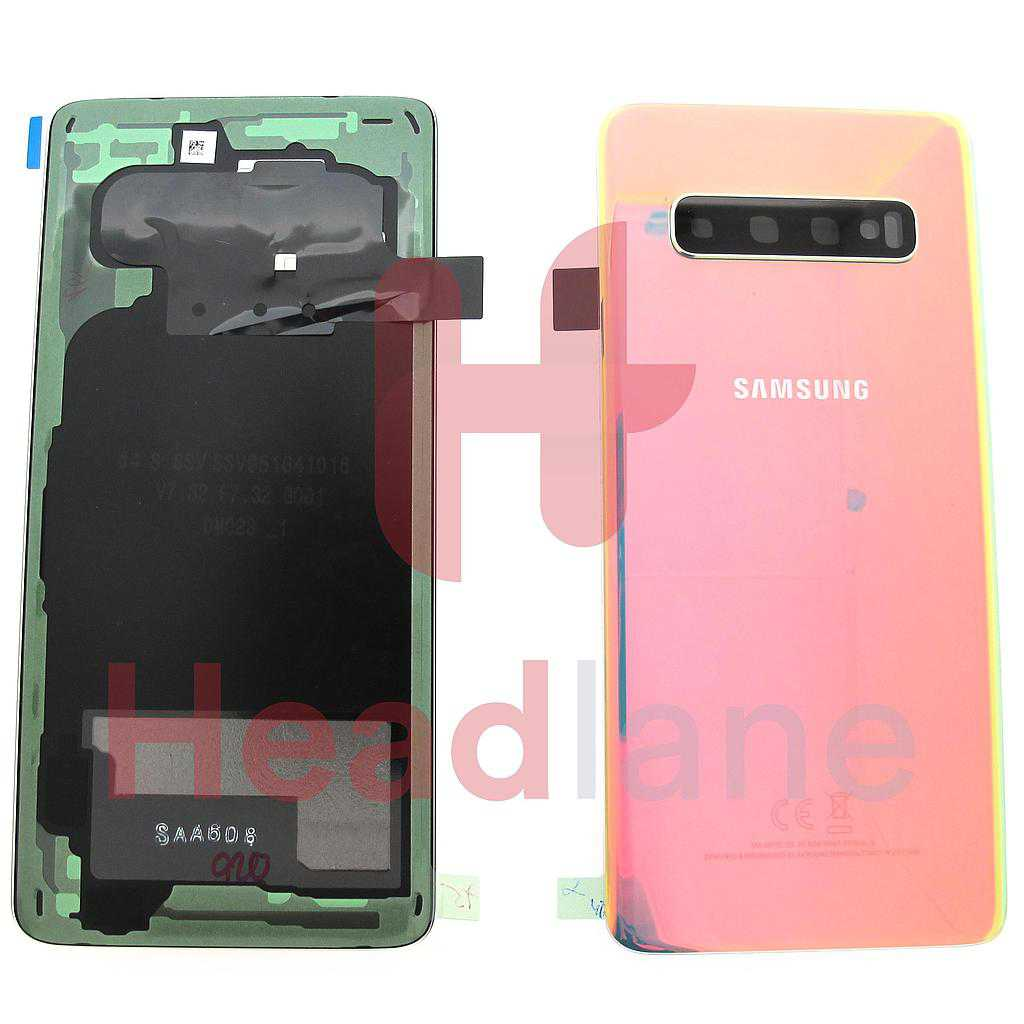 Samsung SM-G973 Galaxy S10 Back / Battery Cover - Silver