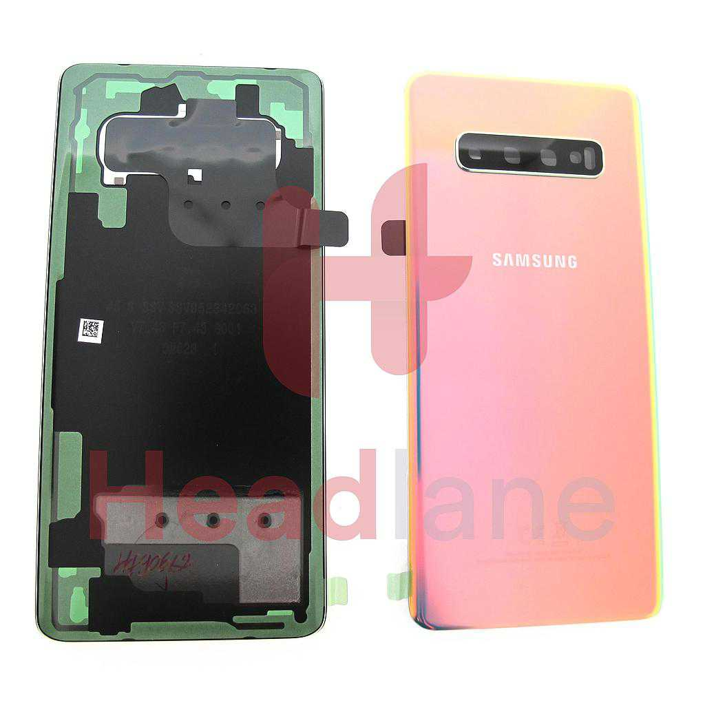 Samsung SM-G975 Galaxy S10+ / S10 Plus Back / Battery Cover - Silver