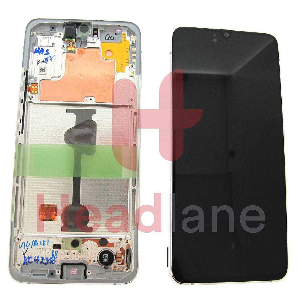 Samsung SM-A908 Galaxy A90 5G LCD Display / Screen + Touch - White